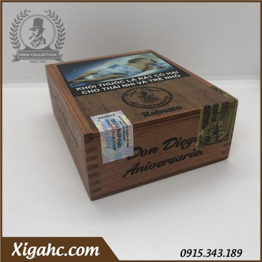 Cigar Don Diego Aniversario 10 Robustos Nhap Khau 5