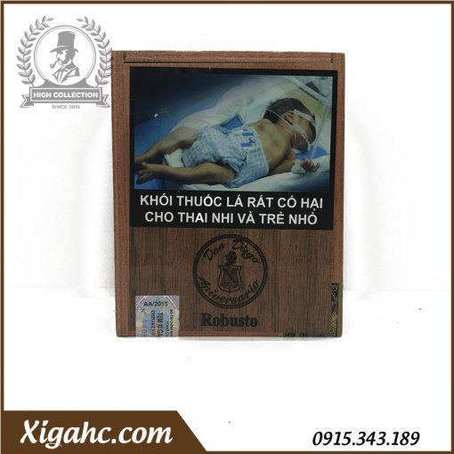 Cigar Don Diego Aniversario 10 Robustos - Nhập Khẩu