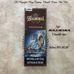 Xì gà Balmoral 3 Churchill Tubos