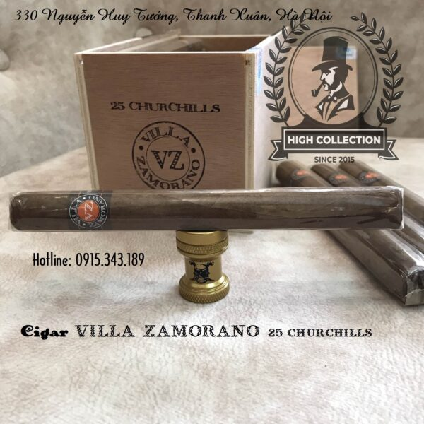 Xì gà Villa Zamorano 25 Churchil