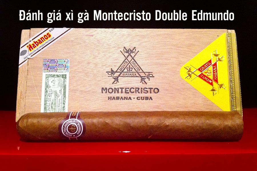 đánh giá xì gà Montecristo Double Edmundo