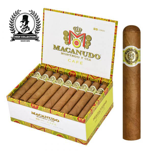 macanudo lords cafe box of 25