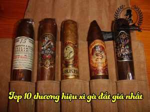 top 10 thuong hiệu xì gà đắt giá nhất