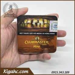 Xì Gà Club Master Mini Brown Nhập Khẩu