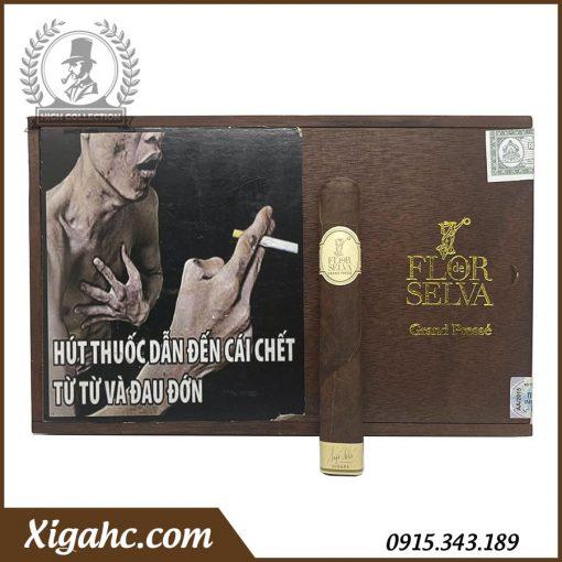 Xì gà Flor de Selva Grand Presse - Hộp 10 điếu