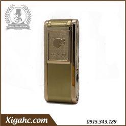 Bật lửa xì gà Cohiba COB080 2 Tia - Màu Gold