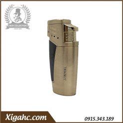 Bật lửa xì gà Lubinski SK43 3 tia - Màu Black Gold