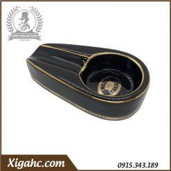Gạt tàn xì gà 1 điếu P100 - Màu Đen