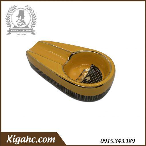 Gạt tàn xì gà 1 điếu P100 - Màu Vàng
