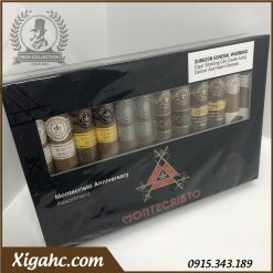Xi Ga Montecristo Anniversary Assortment 12 3