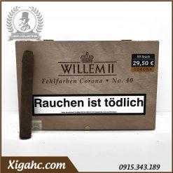 Xì gà Willem II Fehlfarben Corona No. 40 Nội Địa Đức