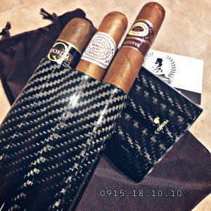 Ống Đựng Cigar Cohiba 3 Điếu P333